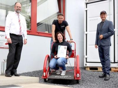 """mietlager4U aus Reutlingen ist zertifiziertes """"TOP Sozial""""-Unternehmen"""